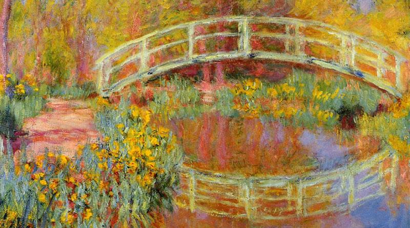 'El puente japonés', de Claude Monet (1896)