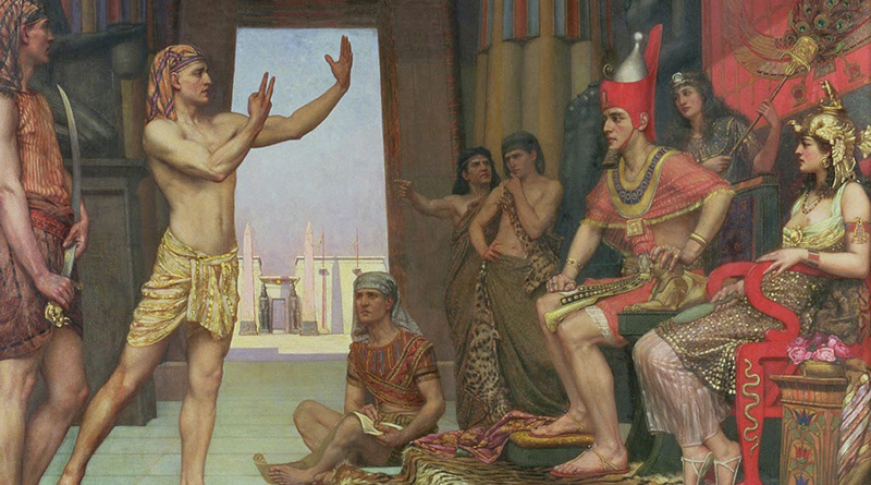 'José interpreta el sueño del faraón', de Reginald Arthur (1894)