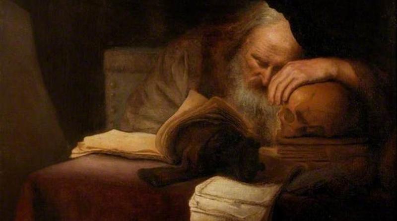 'Un filósofo', de Salomon Koninck (1655)